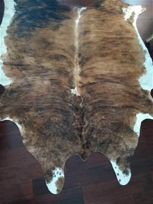 New Exotic Brazilian Cinnamon Swirl Cow Hide