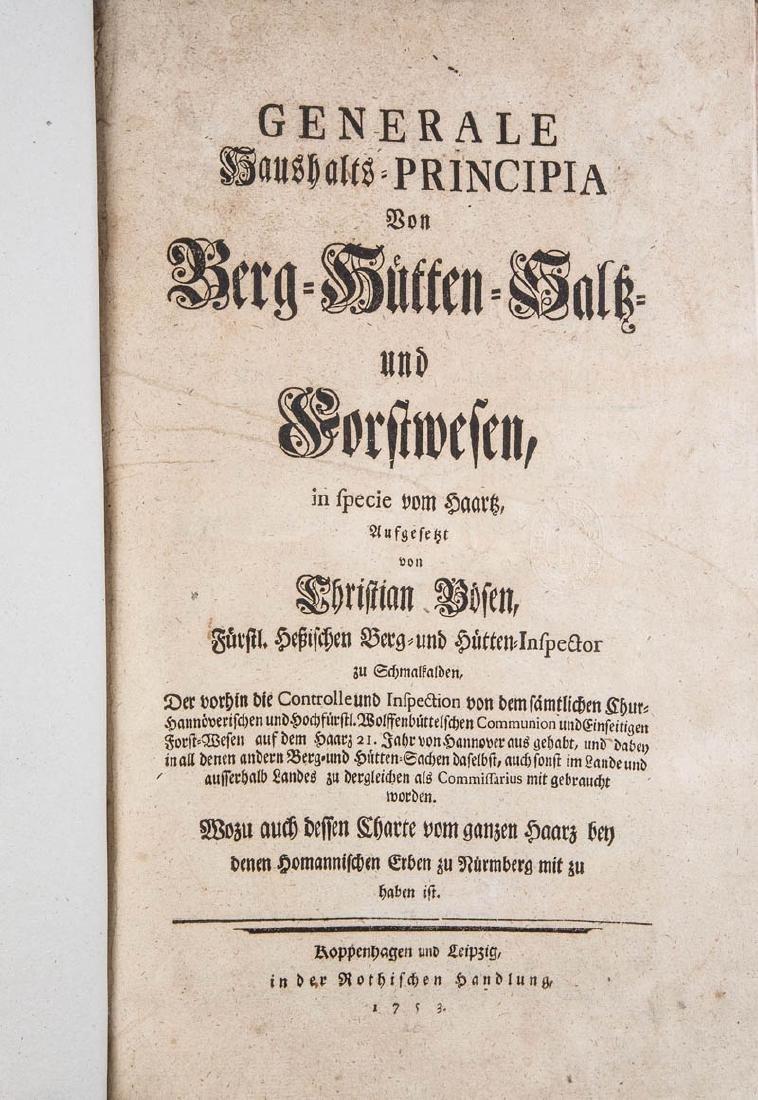 Christian Böse(n): GENERALE HAUSHALTS-PRINCIPIA VON