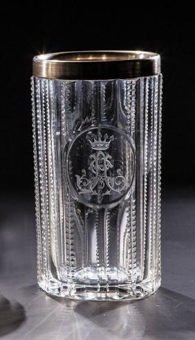 Becher mit Silbermontierung