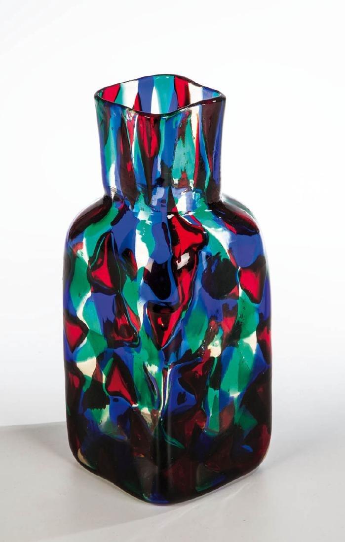 Seltene Vase ''Pezzato Parigi''
