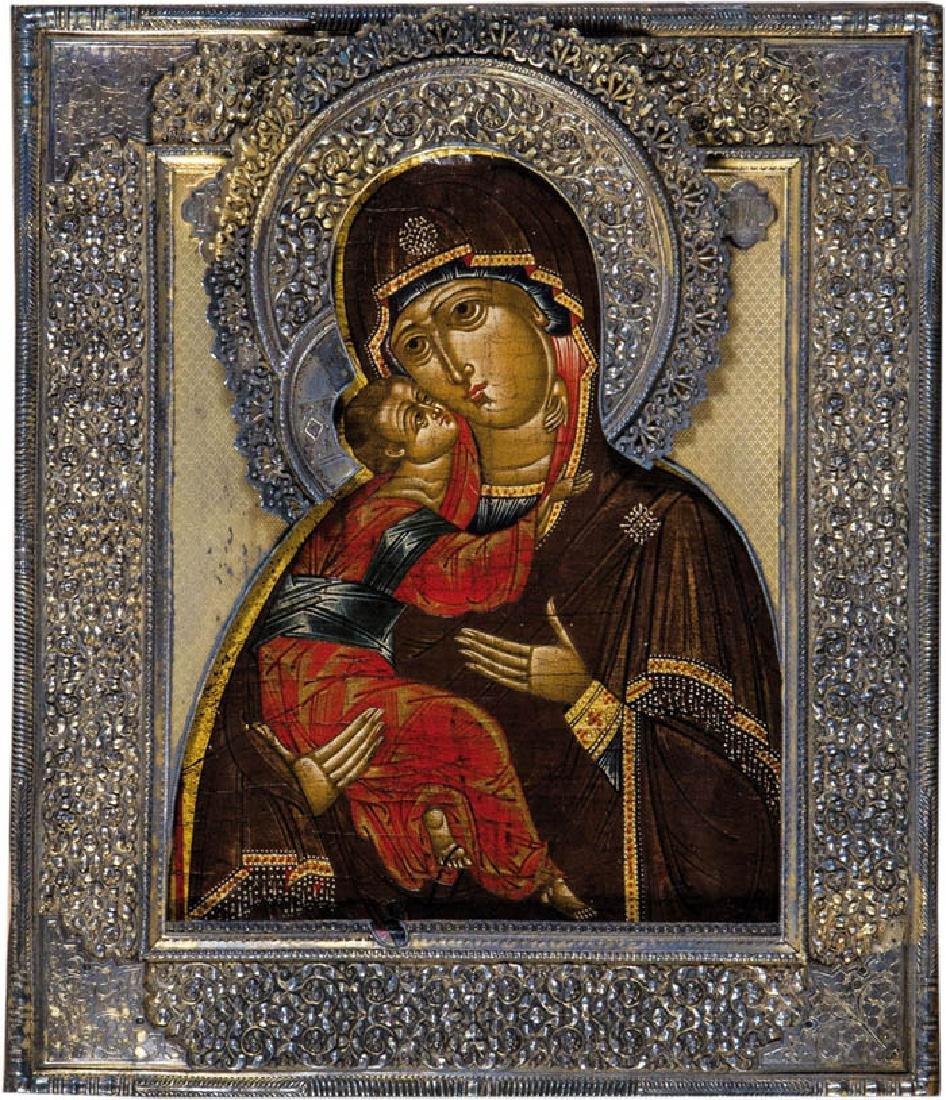 Gottesmutter von Wladimir (Wladimirskaja) mit