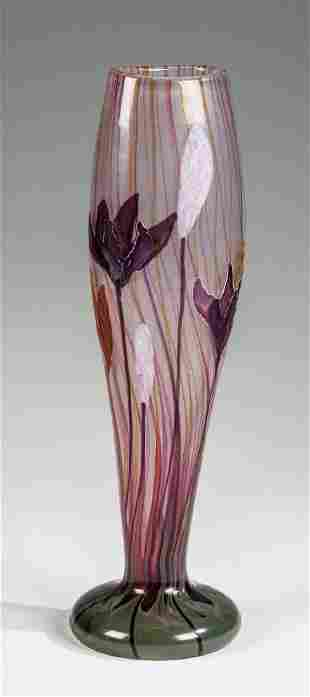 Bedeutende Vase ''Crocus''
