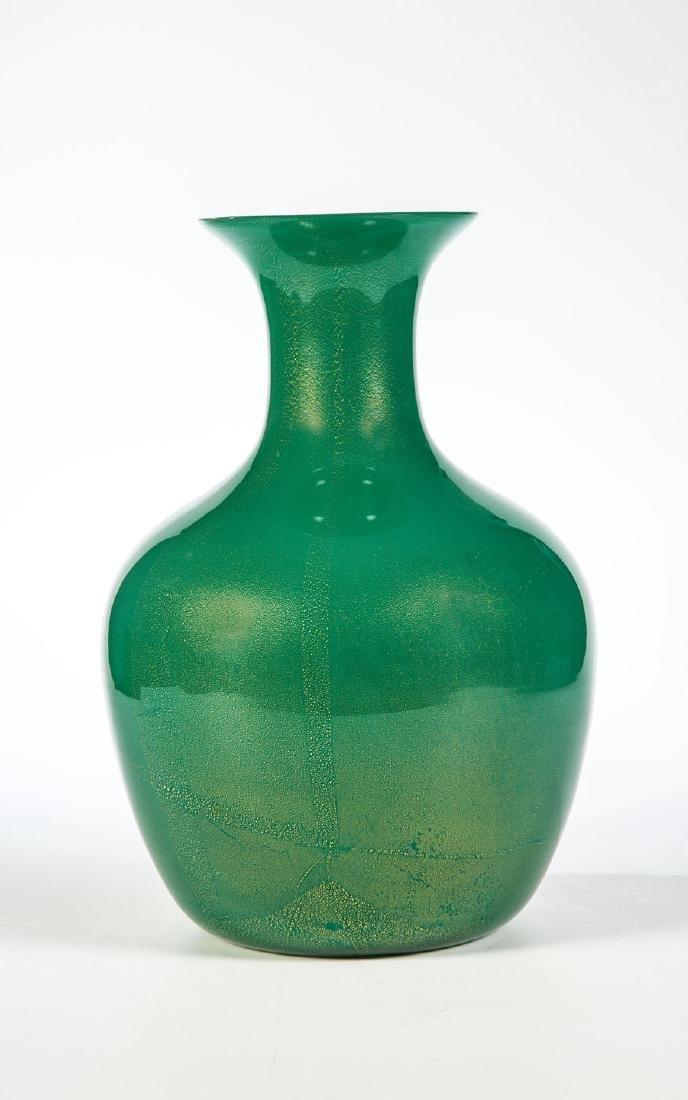 Vase ''Verde oro''