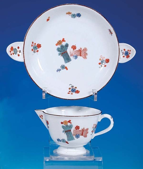 10: Tasse m. Unterschale Meissen 1735 cup w. saucer