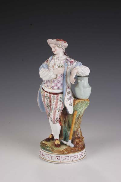 11: Gaertner Thueringen figurine gardener Thuringia
