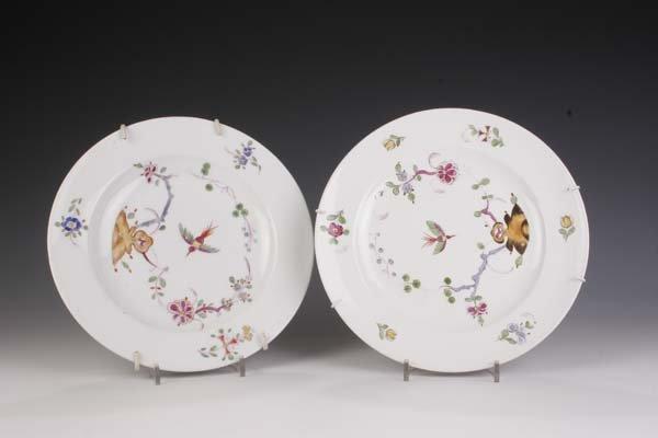 14: Zwei Teller Meissen 19. Jh two plates