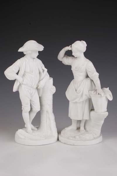 16A: Bauer u. Baeuerin' Niderviller 1775 'farmers'