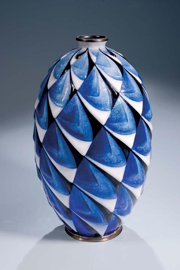237: Vase Atellier d'Art Faure Limoges 1925-33
