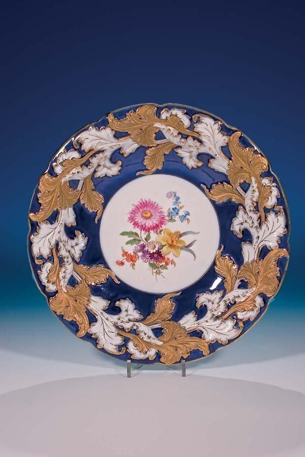 15: Zierschale Meissen vor 1924 Ornamental Plate