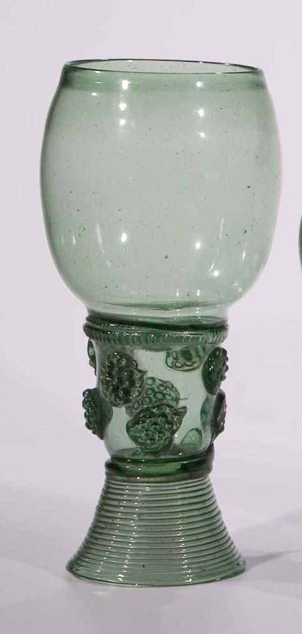 11: Roemer vintage glass rummer German or Dutch