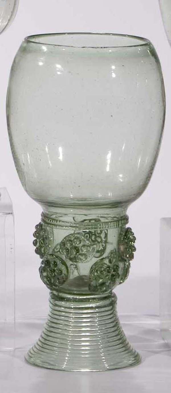 14: Roemer vintage glass rummer German or Dutch