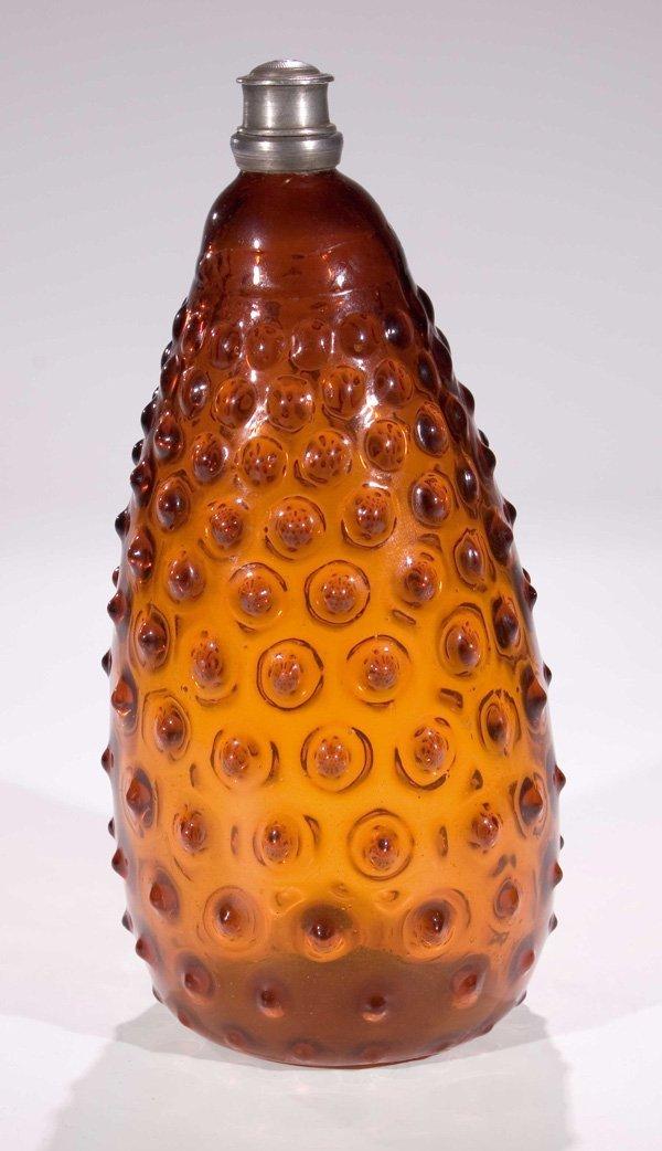 17: Warzenflasche vintage glass bottle Tyrol