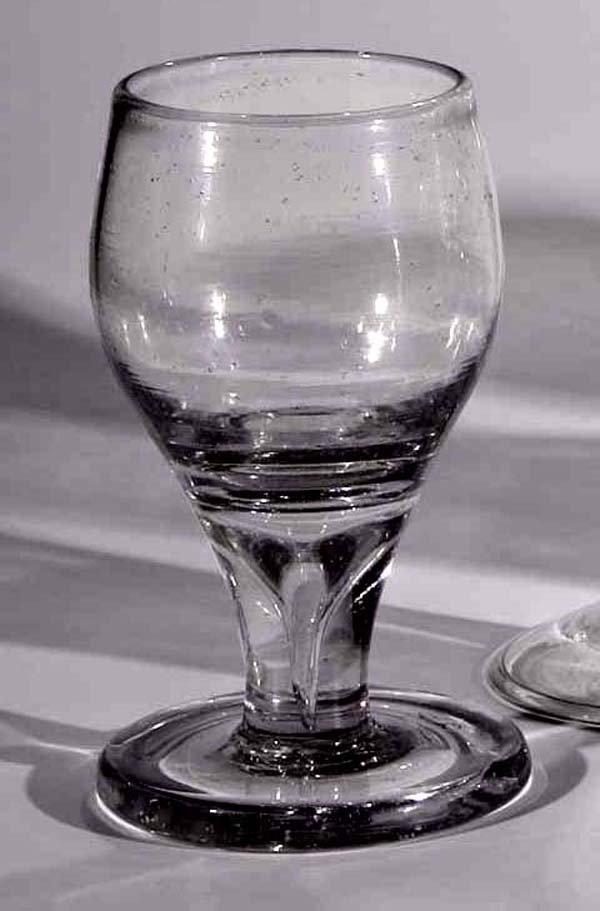 21: Schnapsglas vintage liquor glass German
