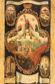 Monumentale Ikone mit dem ''Jüngsten Gericht''