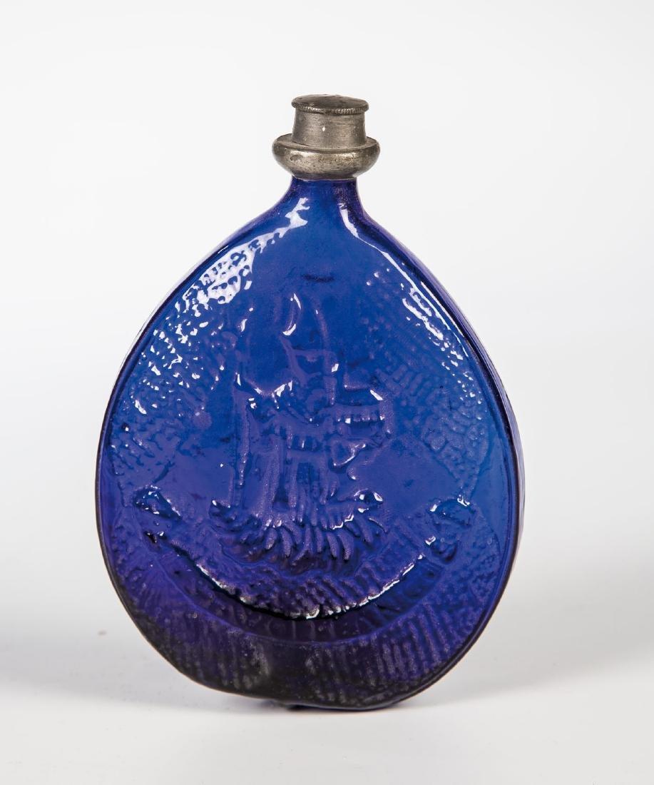 Pilgerflasche mit Zinnschraubverschluss