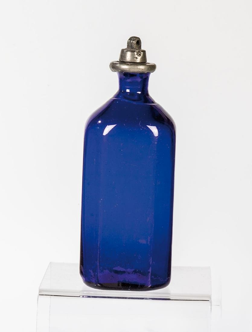Schnapsflasche mit Zinnschraubverschluss