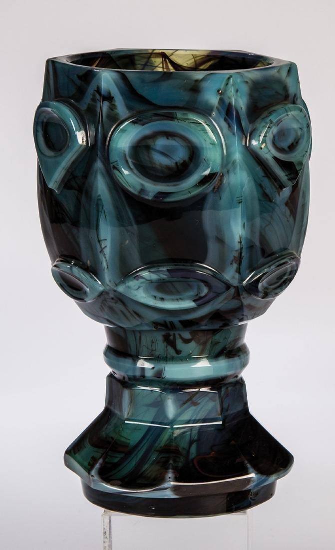 Seltener Steinglasbecher