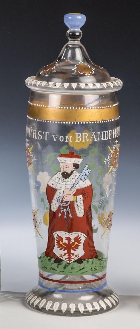 Deckelhumpen mit dem Kurfürsten von Brandenburg