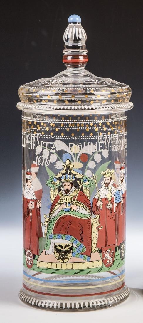 Deckelhumpen mit Kaiser und den Kurfürsten