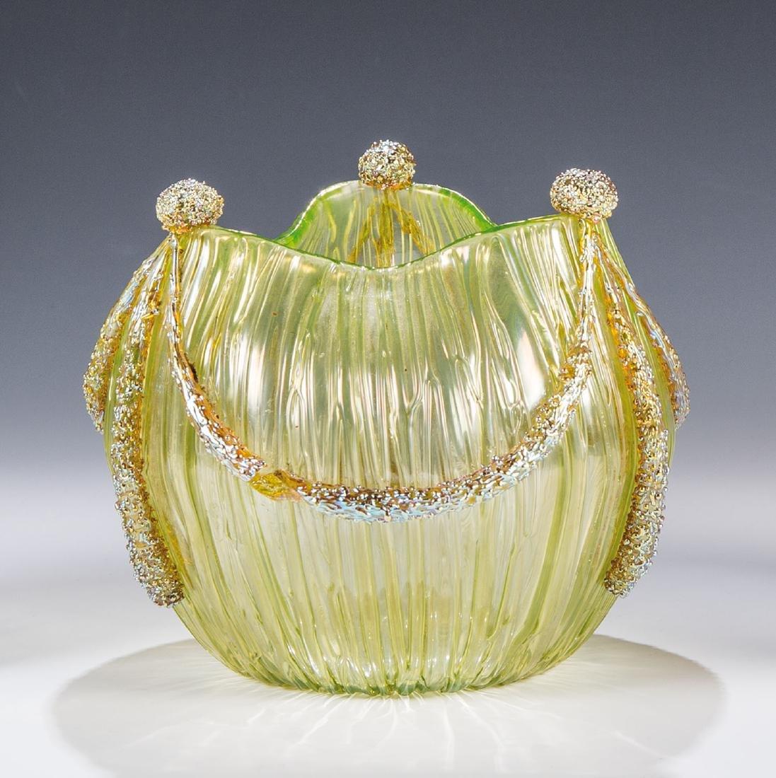 Vase ''Empire kaisergrün verl. Texas''