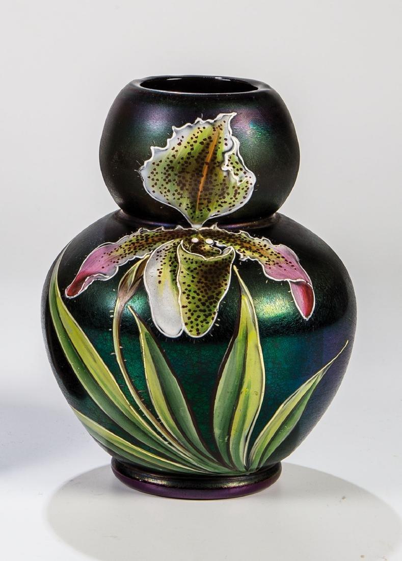 Vase mit Orchidee