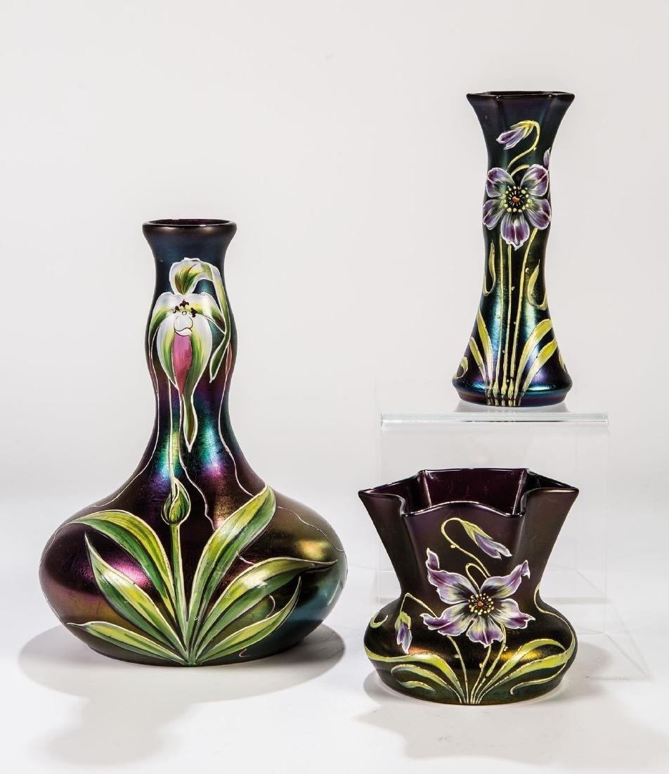 Drei Vasen