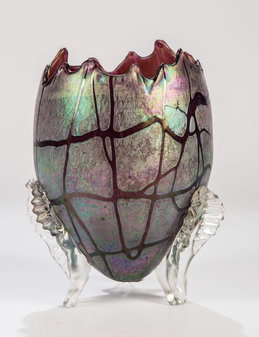 Eiförmige Vase