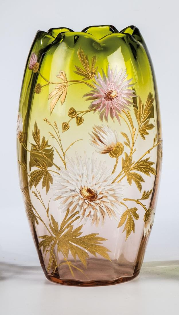 Vase mit Chrysanthemen