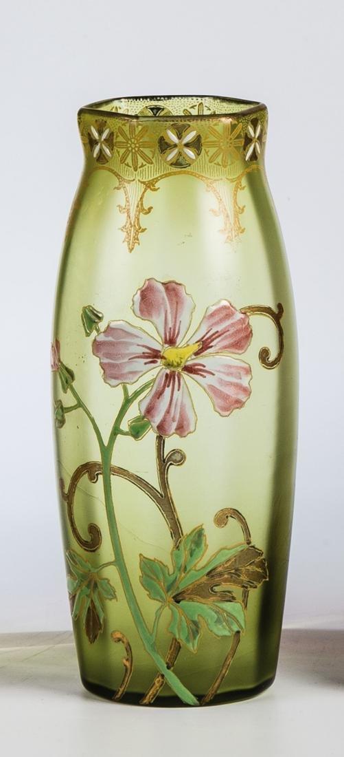 Vase mit Storchenschnabel
