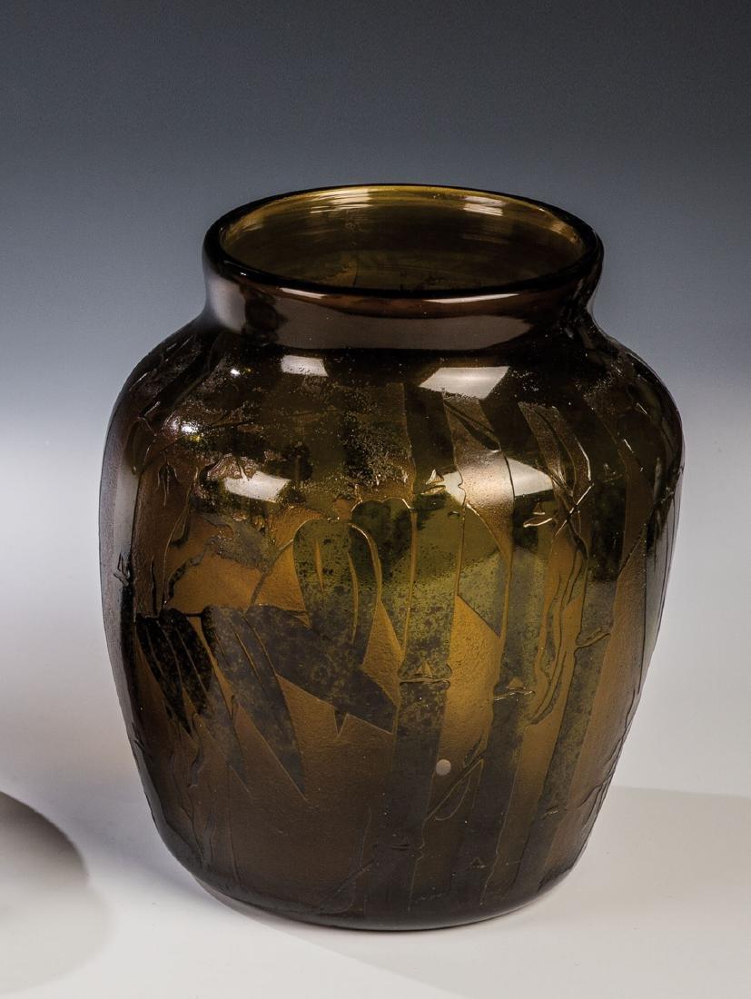 Vase mit Bambus