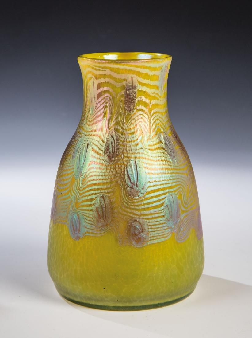 Vase ''Citrongelb Phänomen Gre 3/430''