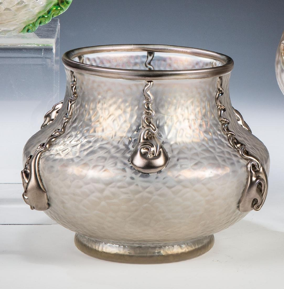 Vase ''Nautilus'' mit ''Martelé''