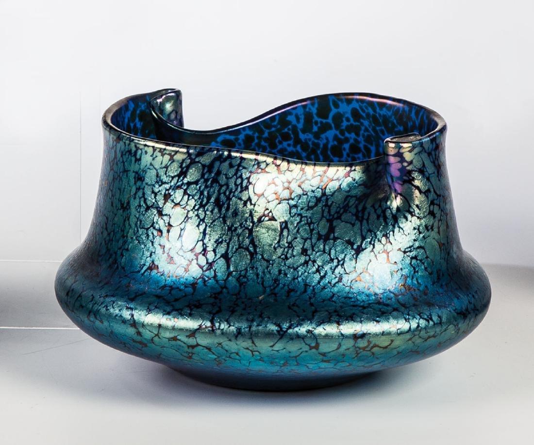 Vase ''Cobalt Papillon''