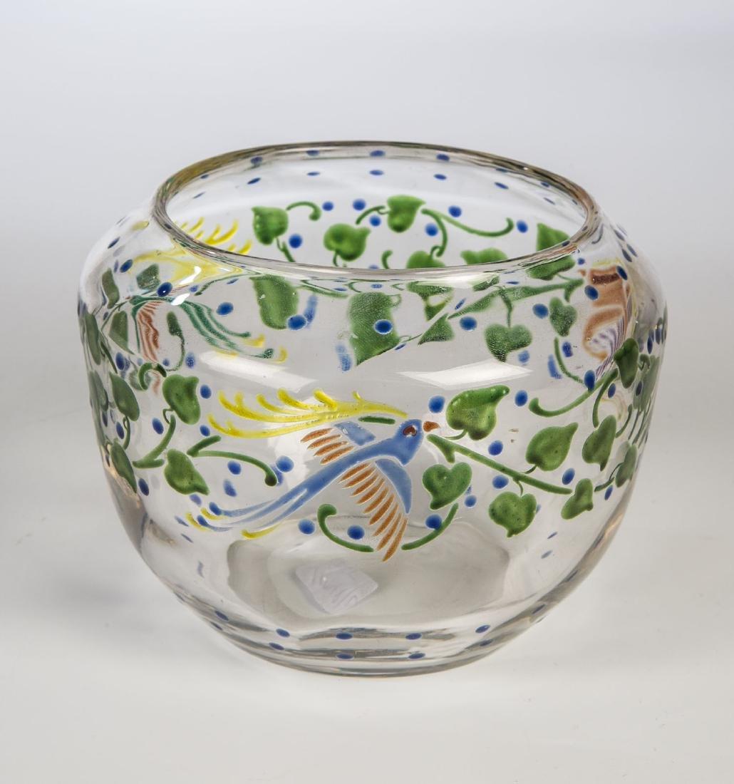 Vase mit Vögel