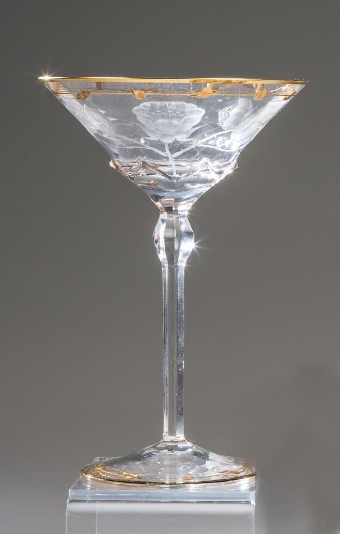 Champagnerschale ''Rose''