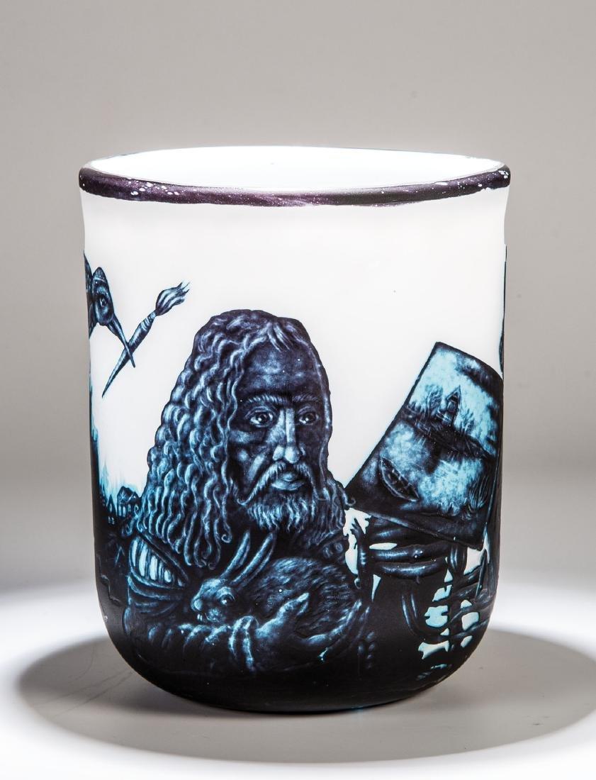 Vase ''Hommage à Dürer''
