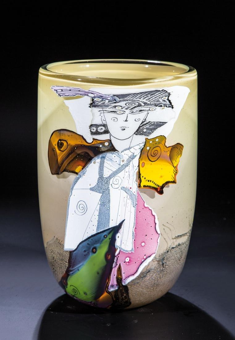 Vase ''Samurai''