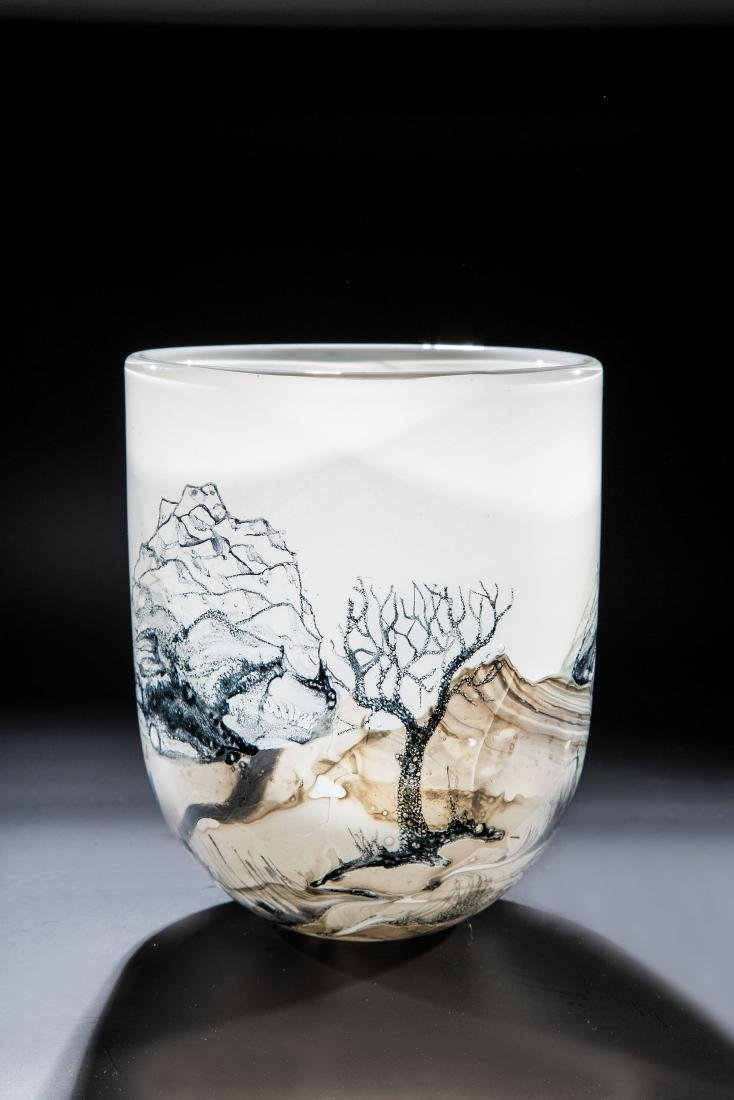 Vase ''Winter''