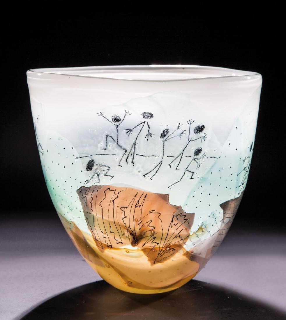 Vase ''Verunsicherung''