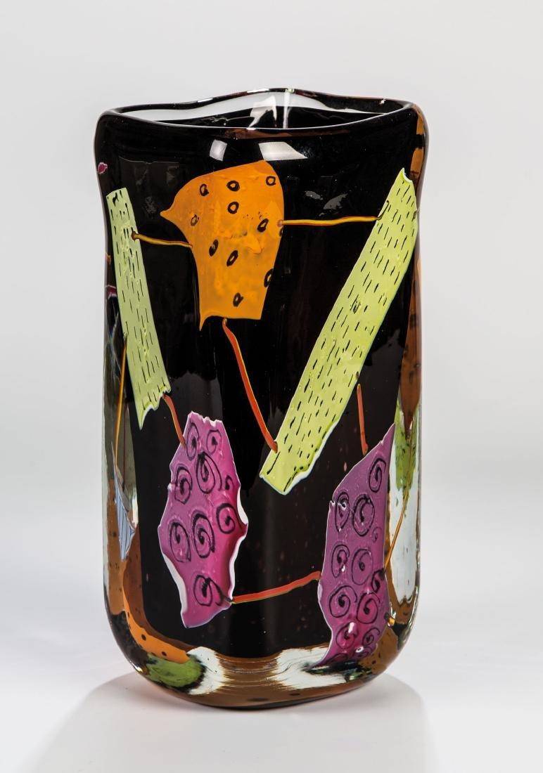 Vase ''Schwarzer Kasten''