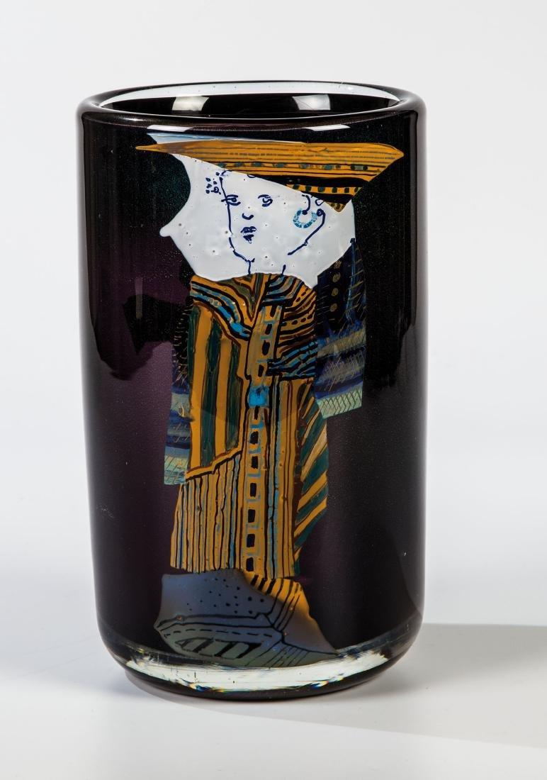 Vase ''Schwarzes Fräulein''