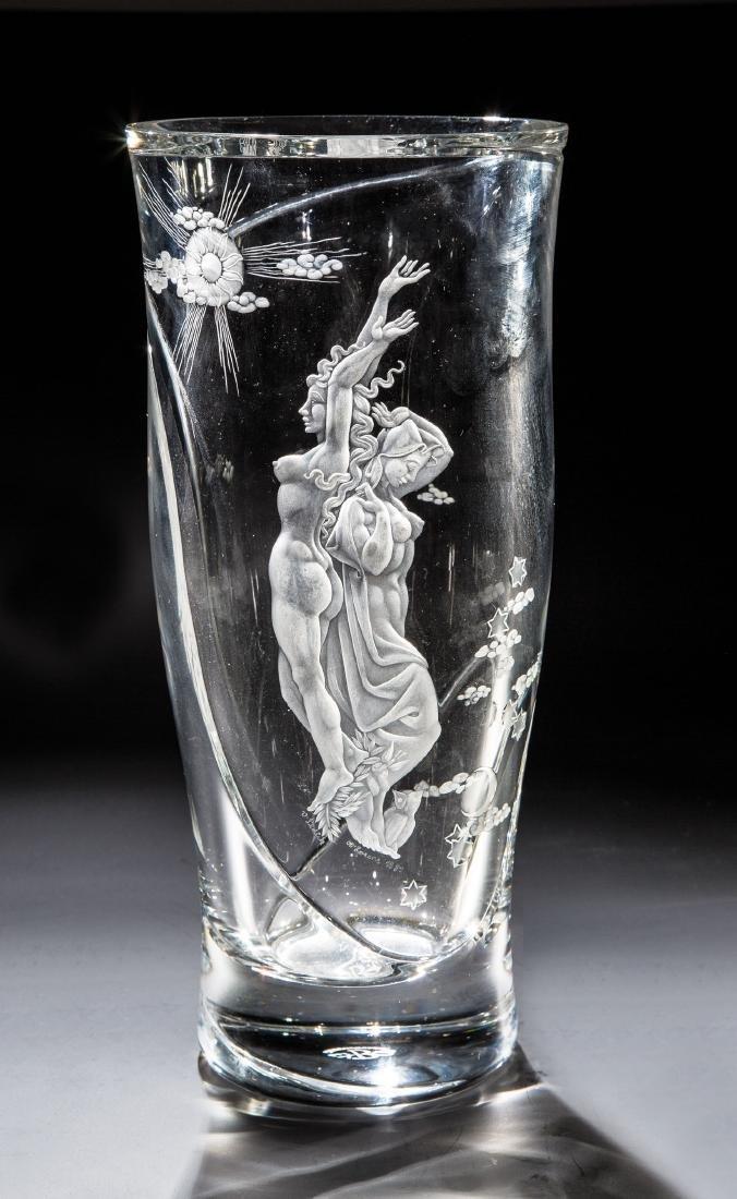 Vase ''Tag und Nacht''