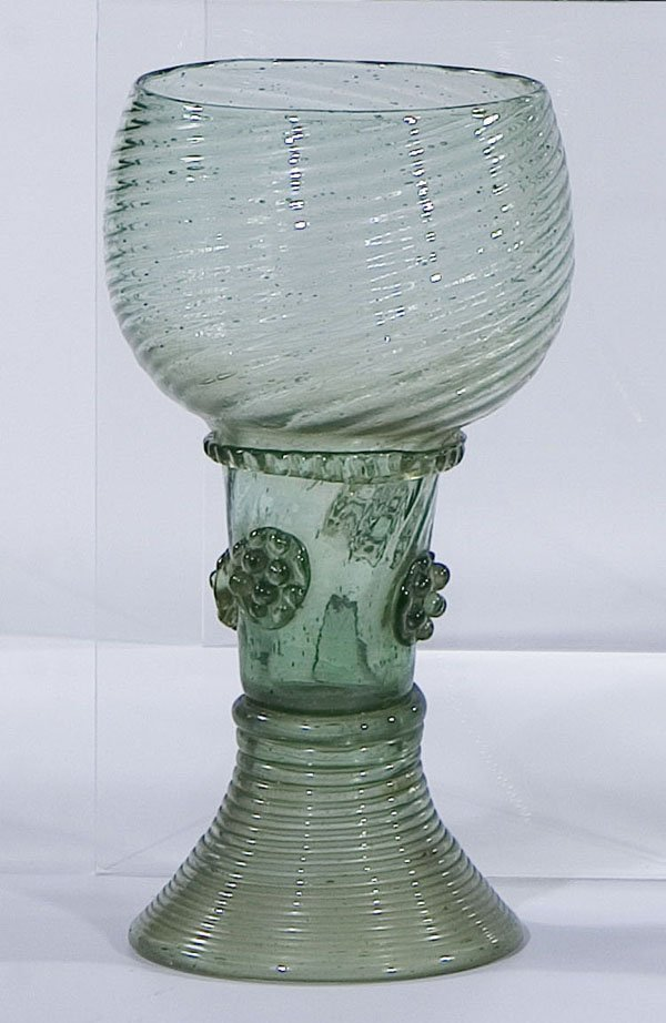 1: Roemer Rummer Germany Holland Glass antique old