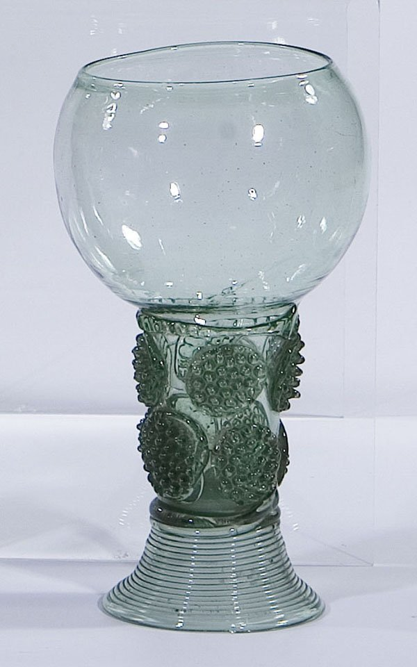 6: Roemer Rummer Germany Holland Glass antique old