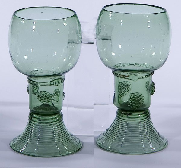 7: Roemer Rummer Germany Glass antique Old vintage