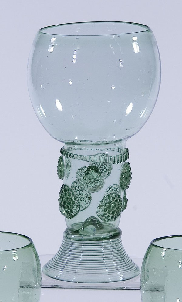 8: Roemer Rummer Germany Holland Glass antique old