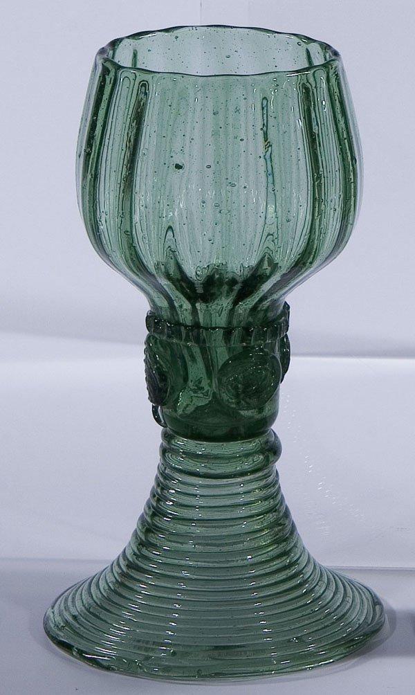 9: Roemer Rummer Germany Glass antique Old vintage