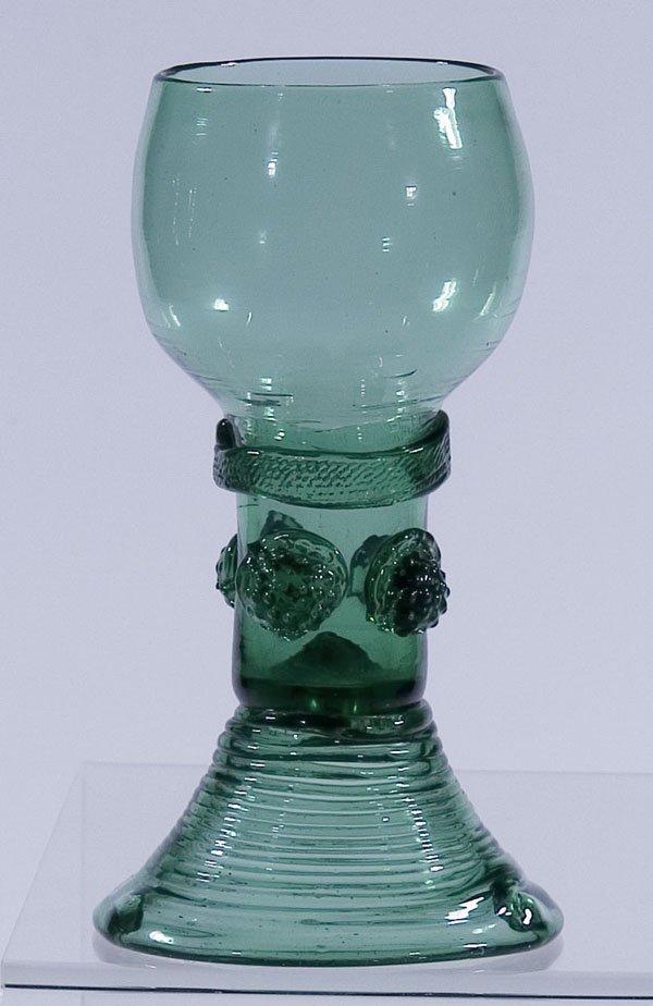 10: Roemer Rummer Germany Glass antique Old vintage