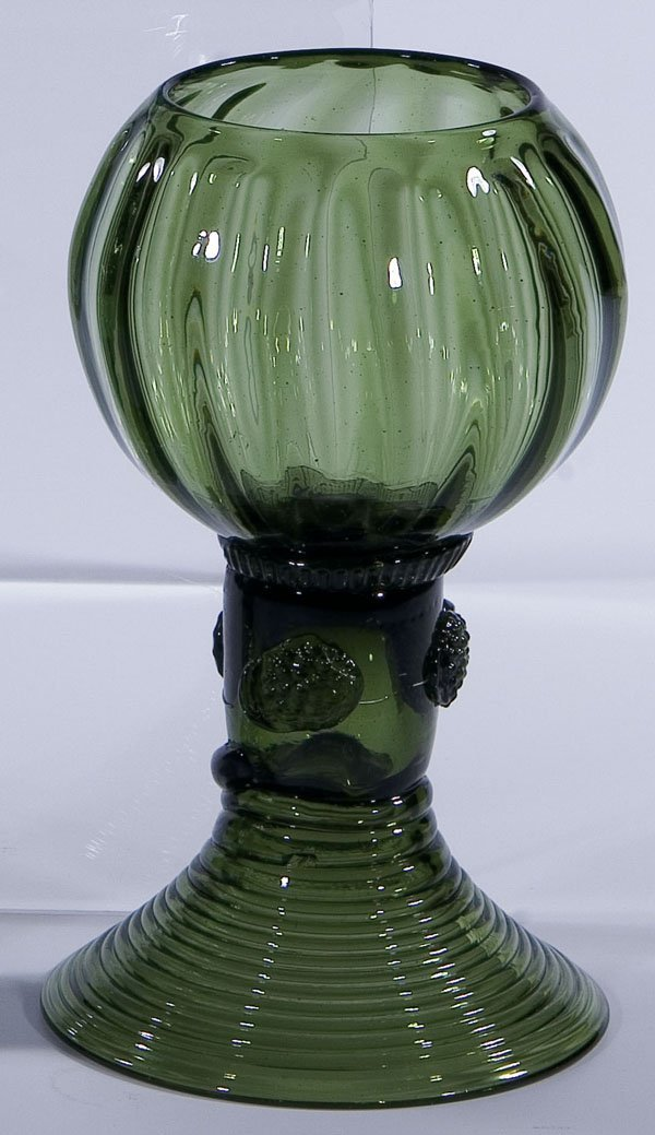 11: Roemer Rummer Germany Glass antique Old vintage