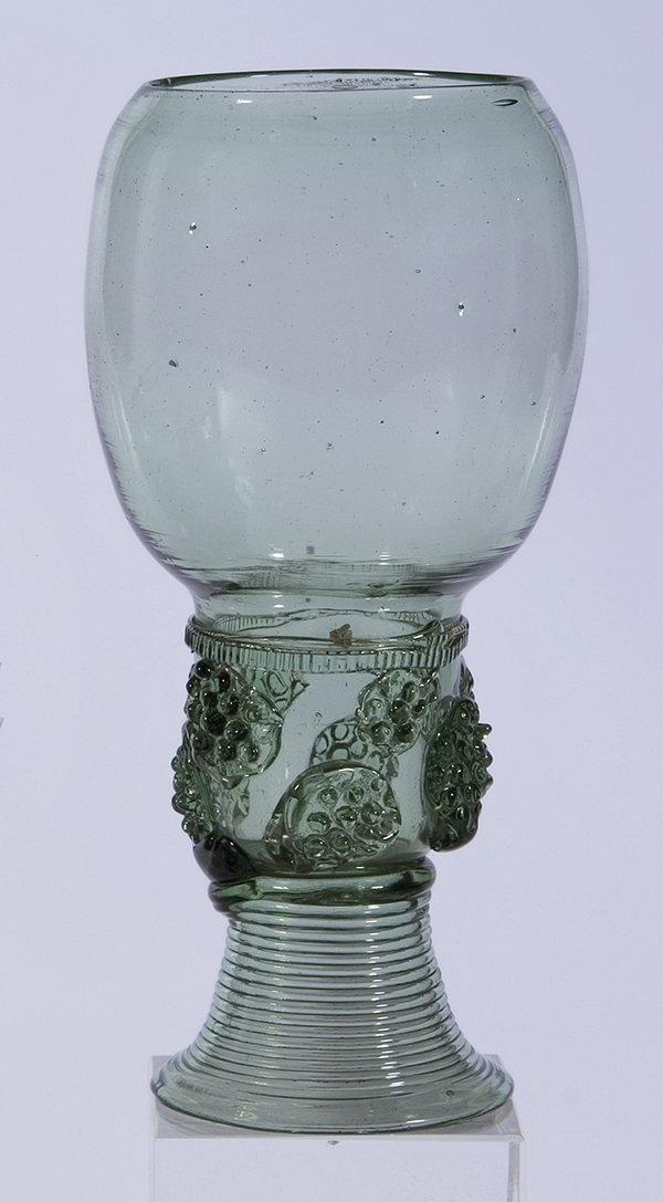 2: Roemer German? Dutch? Glass Rummer Vintage Old
